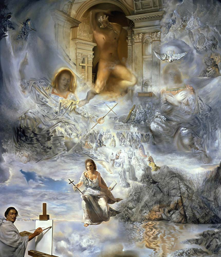 The ecumenical council by salvador dali