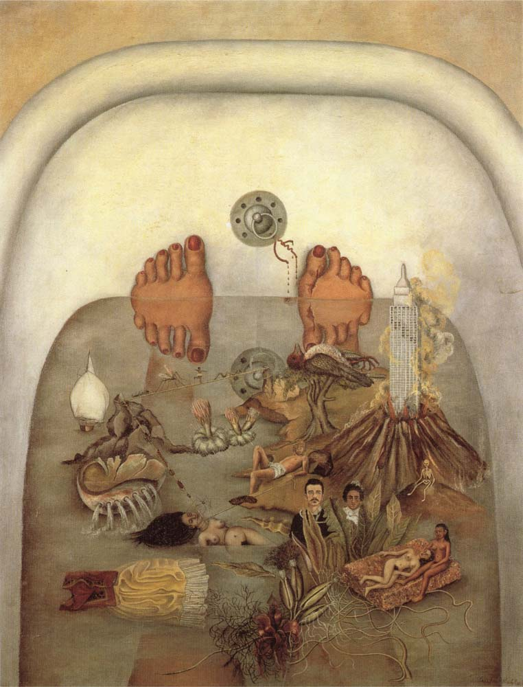 What the Water Gave Me by Frida Kahlo - Facts about the ...