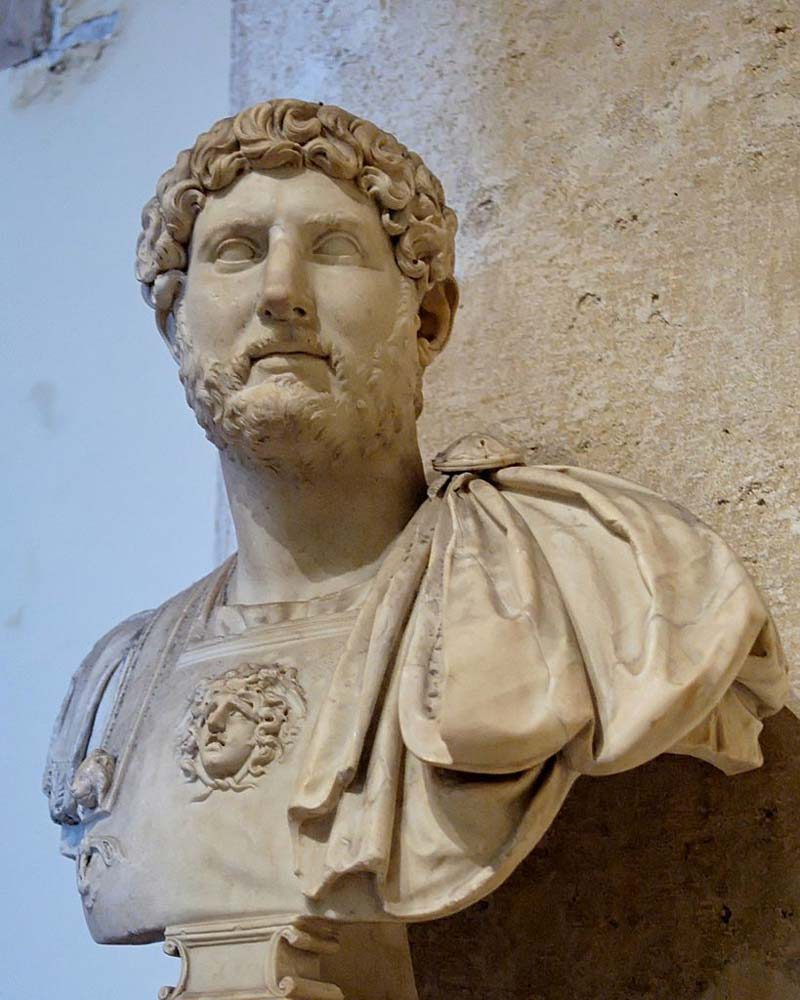 the rule and accomplishments of emperor hadrian in rome Hadrian's biography  hadrian (publius aelius hadrianus), the seventh of  vespasian's reign, was born  hadrian would maintain a close relationship with  the emperor and start a  however, ever since his questionable rise to power,  hadrian was an unpopular rule which might explain his constant travels away  from rome.