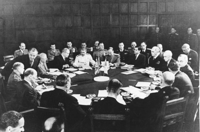 Potsdamer Konferenz, Konferenztisch