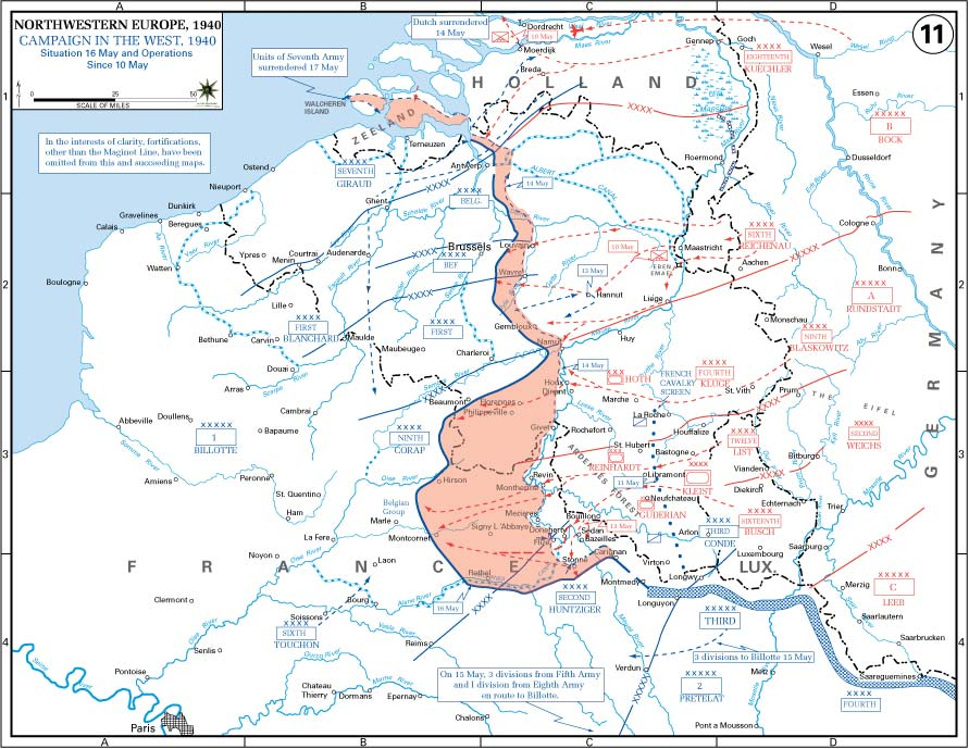 Battle of France 1940 Summary Facts