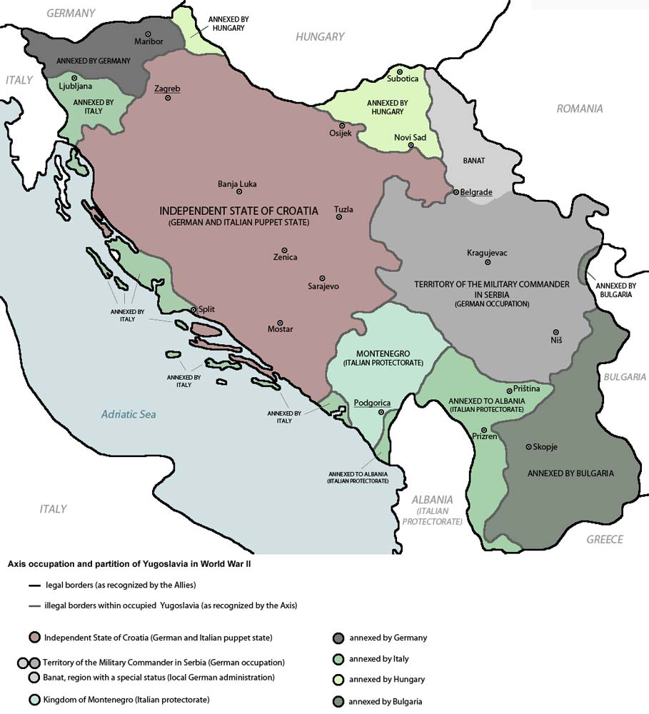 Invasion of yugoslavia april 6 1941 summary wwii german attack the invasion gumiabroncs Images
