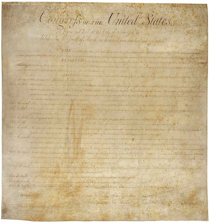 an overview of the amendments in the constitution of the united states Constitutional amendment process the authority to amend the constitution of the united states is derived from article v of the constitution.