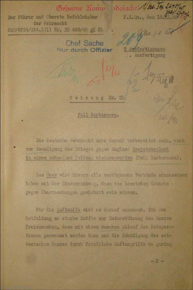 hitlers invasion of the soviet union Hitler's explanation of the soviet invasion, june 21, 1941 [united states, department of state, publication no 3023,  the partnership with the soviet union,.
