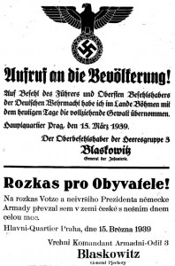 German-Occupation-Czech-Poster