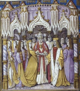 Marriage of henry and Catherine 263x300