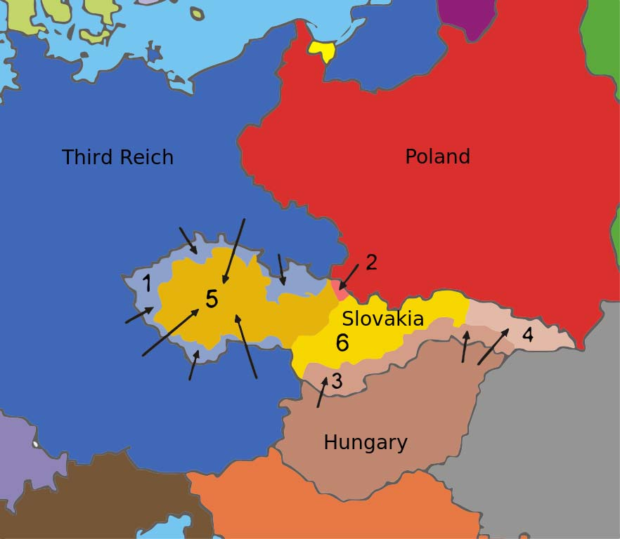 Munich Agreement 1938 Summary Settlement Between European Powers