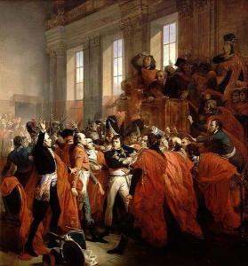 Napoleon and the Consul 279x300