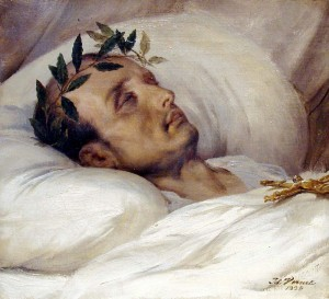 Napoleon on Death Bed 300x273