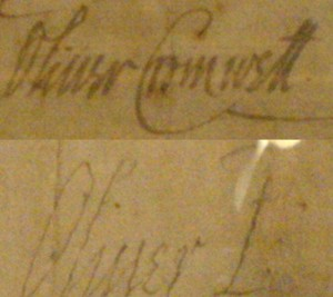 Oliver Cromwell Signature 300x267