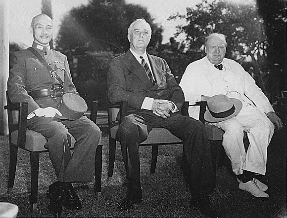 the conference that mattered during the second world war China defensive  the us army  appreciation of american achievements during world war  unified chinese war effort against the japanese the second challenge.