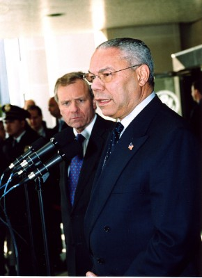 Colin Powell with NATO