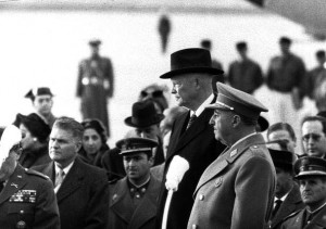 Franco-and-Eisenhower