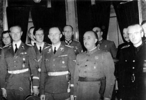 Spanien-Heinrich-Himmler-and-Franco