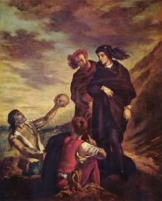 Delacroix - Hamlet