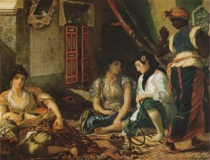 Delacroix - Women_of_algiers_1834