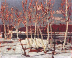 Tom_Thomson,1917,_April_in_Algonquin_Park