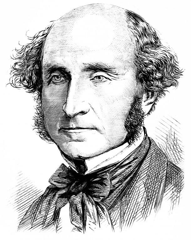 John stuart mill spawned the ideology of the womens rights movement