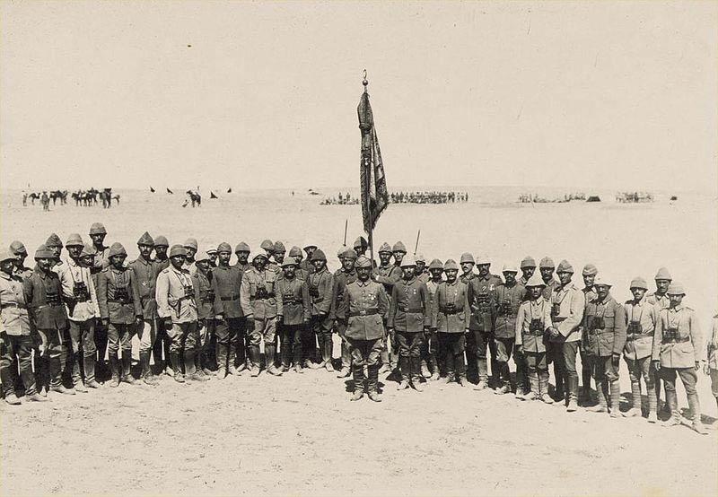 1st_Gaza_Officers