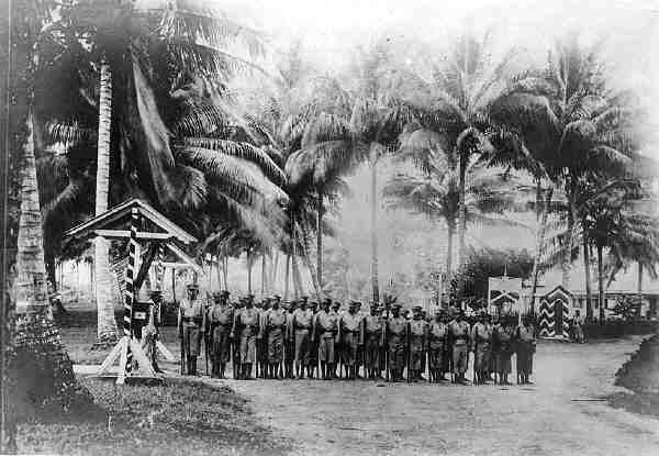 Deutsch-Neuguinea-Rekruten