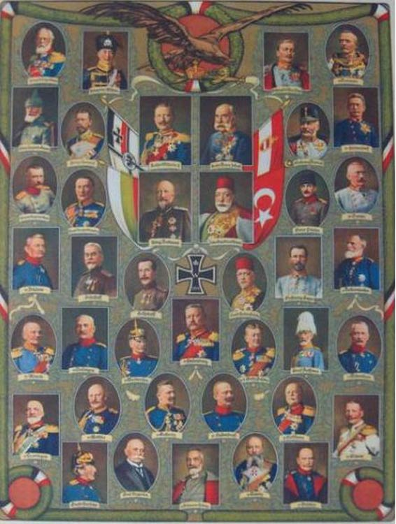 Central Powers: WWI Alliance Opposite the U S