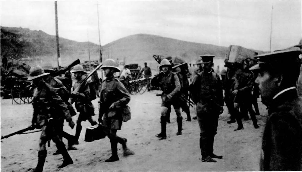 British-Troops-Arrive-Tsingtao-1914
