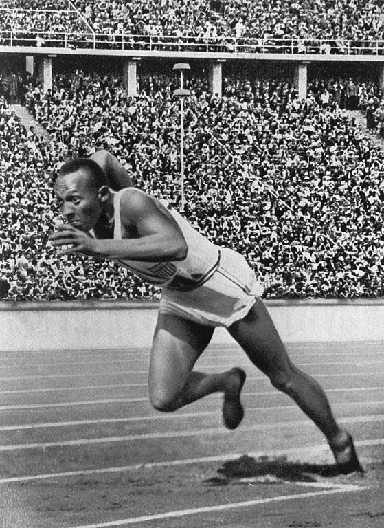 a description of jesse owens as the best track athlete at the 1936 olympics Jesse owens was a track and field star his most famous  jesse owen's finest  moment came in the 1936 berlin olympics he won olympic.