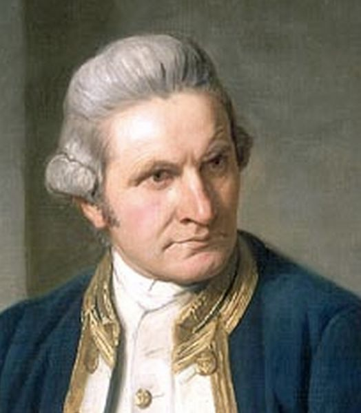 Captain James Cook (1728 - 1779)