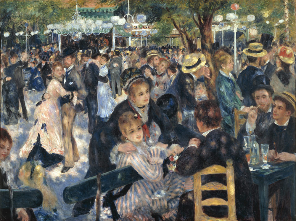 Pierre Auguste Renoir Bal Du Moulin de la Galette