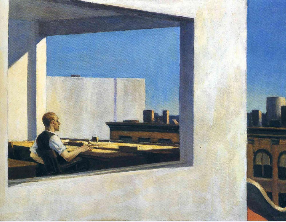 Office In A Small City By Edward Hopper Facts About The Painting