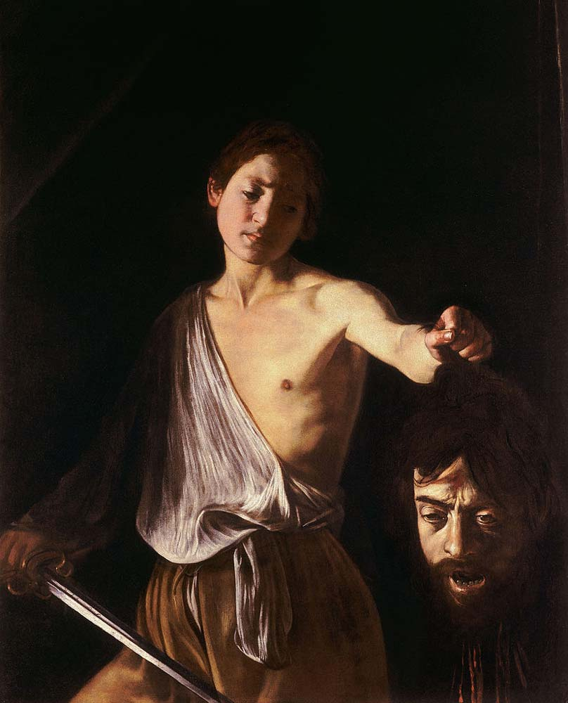 Image result for caravaggio david with head of goliath