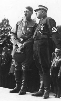 Bundesarchiv Bild Nurnberg Reichsparteitag Hitler und Rohm